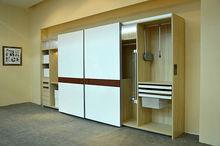 New design custom closet melamine bedroom furniture