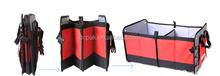 Foldable Multi Compartment Fabric Car / Truck / Van / SUV Storage Basket,Trunk Organizer