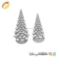 4.5 inch dia creative ideas decoration clear acrylic artificial christmas tree