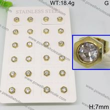 Best quotation and good services Alibaba wholesale yellow gold earrings new design