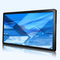 4K 3D 65 inch touch screen 4k monitor interactive with HIGH quality support 4K 3D video By salange Group