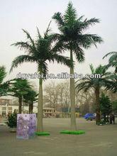 simulation trees,ornamental palm tree,fiberglass trees