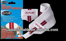 One Pair Air Red Line Wrist Wraps