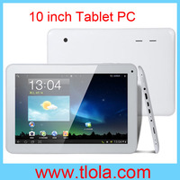 Cheap 10 inch Tablet with RK3168 Dual Core WIFI Webcam HDMI