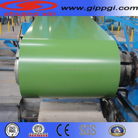 color coated steel coil PPGI/color coated steel coil color coated sheets from Qingdao Shandong
