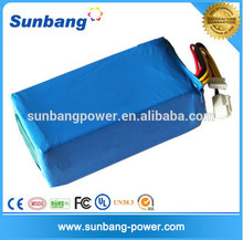 recharge battery72V 40ah for electronic car and electronic boat golf car battery