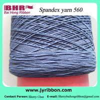 High quality polyester covered spandex yarn