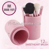 Brand!Miss yifi Barrel brush,wholesale eye lash brush set