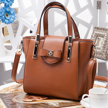 2015 Fashion wholesale elegance bags famous brand leather ladies tote bag handbags