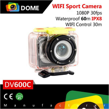 Blackview DV600C Full HD 1080P 170 Degree View Angle 60m Waterproof Wifi Control Action Camera 0.82 inch OLED Sports Camera