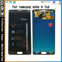 New Arrival for Samsung Galaxy Note 4 lcd display complete,lcd complete display screen with digitizer for samsung note 4