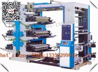 High Speed PVC UV Stack Foil BOPP PE Label Paper CUP Plastic Film Bag 2 6 8 4 Colour Flexographic Flexo Printing Machine Price