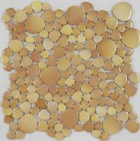 titanium appearance variation style triangle ceramic mosaic tile