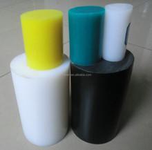 Diverso tamaño de UHMW-PE claras roces plásticos / 100% UHMWPE material duro caña de pescar / UHMW-PE bares / barras
