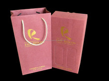 Corrugated red wine gift packaging box