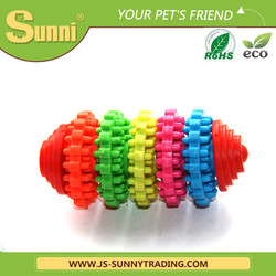 Customised durable chew rubber dog toy