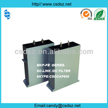 Special Filter DC Capacitor 3000VDC 20000UF