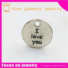 Wholesale Silver Plated Dog Marks Engraved Metal Jewelry Tags
