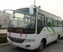 6 meters diesel front engine 22 seats bus hyundai county bus