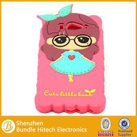 Custom Catrtoon Mobile Phone Silicon Case for xiaomi 2