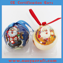 2015 Hottest Printable Holiday Decoration Balls,cheap Plastic Christmas Ball for Holiday