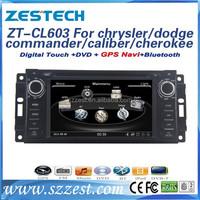 ZESTECH car navigator for chrysler/jeep dodge/commander/caliber/ grand cherokee 2014 support car dvd gps navigation
