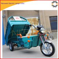 Neweek three doors express service cargo 3 wheel electric cargo trike
