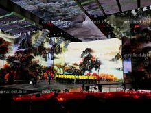 Big RGB LED screen led events