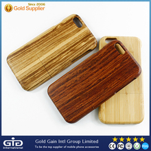 [GGIT]Smooth natural bamboo engraving case cover for iPhone 6