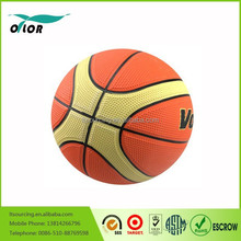 Wholesale brilliant quality official size and weight colorful no stitch laminated basketball