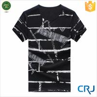 Full-Size Printing White Collar T Shirt Wholesale Cheap