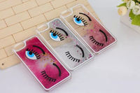 2015 Original Cute Bling Eyes and Eyelash PC Girl Phone Case 3d hard back cover for iphone 6 made in china