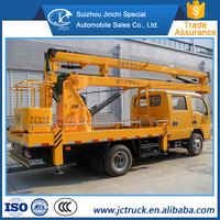 New Arrival small aerial truck with bucket fot hot sale
