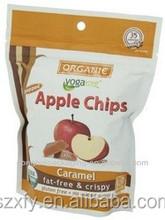 Wholesale Custom Printed Plastic Packing Bag for apple chips