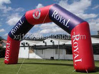 Advertising inflatable entrance archway outdoor start line arches