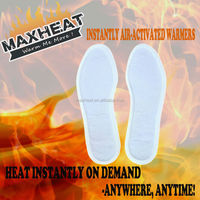 China OEM Insole Instant Foot Warmer Insole Heat Pad