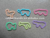 2012 new design reinforced silicone and exercise rubber band