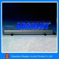 Custom acrylic sign led light display bases for sale