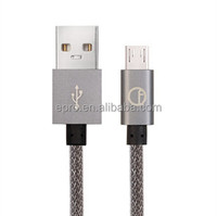 Leading design micro USB cable for phone accessories