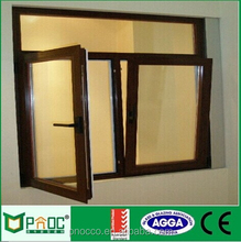 Much Popular Aluminum Tilt turn Window With High Exterior And cheap Price By PNOC