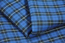 100% cotton check shirt fabric TF008