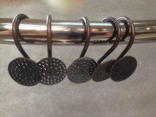 2015 Top quality fashion shower curtain hooks/decorative shower curtain hooks