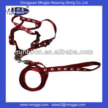 wholesale new style high quanlity silk screen pet collars and leashes