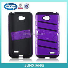 Hot new products mobile cell phone case tpu pc kickstand case housing for LG l90
