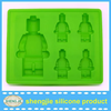 Lego Robot silicone ice mold and silicone ice cube tray to make ice cream for you