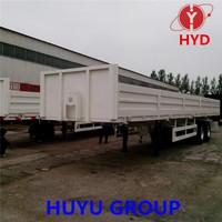 HYD brand side wall semi trailer to loading bluk cargo