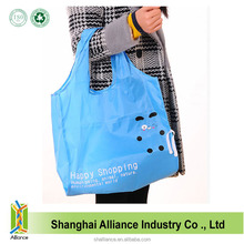 Manufacture Cheap Nylon Customized Printing Tote Shopping Foldable Bag