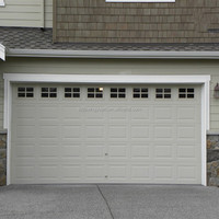 Safely steel automatic garage door window inserts