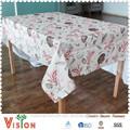 arpillera 2014 mantel de tela para la mesa redonda impreso