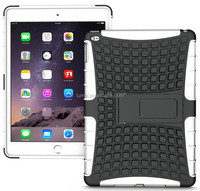 Heavy Duty Rugged TPU Skin Hard Case Cover Stand For Apple iPad Air 2